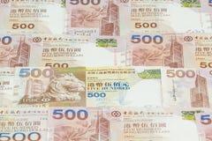 Hong Kong dollars background Stock Image