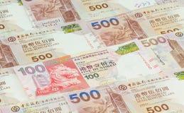 Hong Kong dollars background Royalty Free Stock Photos