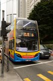 A Hong Kong double-decker bus Stock Photography