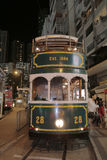 Hong Kong Double-Decker classical Tram Stock Images