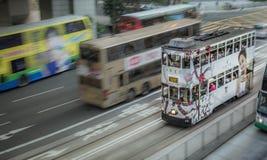 Hong Kong Double Metro Stockbilder