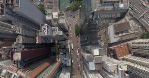 Hong Kong Down Town Top sikt lager videofilmer