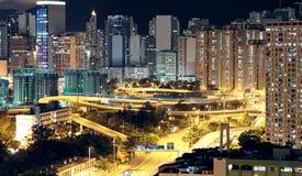 Hong Kong downtown Stock Images
