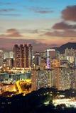 Hong Kong downtown Royalty Free Stock Photo