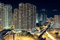 Hong Kong downtown Stock Photo