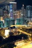 Hong Kong downtown Stock Photos