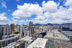 Hong Kong Downtown city Royalty Free Stock Photography