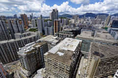 Hong Kong Downtown city Royalty Free Stock Photos