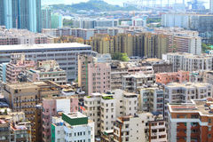 Hong Kong downtown at day time Stock Photo