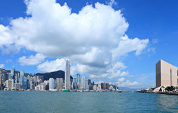 Hong Kong downtown Stock Photography