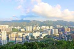 Hong Kong downtown at daytime Stock Images