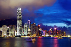 Hong Kong downtown Royalty Free Stock Image