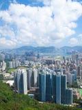 Hong Kong Downtown On Day Royalty Free Stock Photo