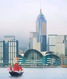 Hong Kong Downtown skyline Stock Photography
