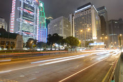 Hong Kong downtown skyscrapers Stock Image
