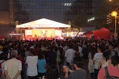 Hong Kong Dragon Boat Carnival 2014 imagens de stock