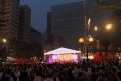 Hong Kong Dragon Boat Carnival 2014 imagem de stock royalty free