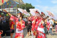 Hong Kong Dragon Boat Carnival 2015 imagem de stock