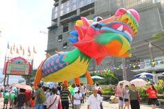 Hong Kong Dragon Boat Carnival 2015 fotos de stock royalty free