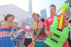 Hong Kong Dragon Boat Carnival 2015 Royalty Free Stock Photo
