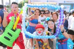 Hong Kong Dragon Boat Carnival 2015 Stock Photo