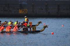 Hong Kong Dragon Boat Championships imagens de stock