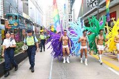 Hong Kong dumy parada 2013 Zdjęcie Royalty Free