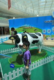 2015 Hong Kong Dutch Lady Pure Animal Husbandry Farm event. Dutch Lady Pure Animal Husbandry Farm event, located in Metro City Plaza, Hong Kong. The event aims Stock Photos