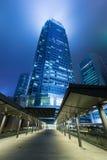 Hong Kong dzielnica biznesu Obrazy Stock