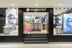 Hong Kong-Einkaufszentruminnenraum Lizenzfreie Stockfotos