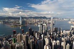 Hong-Kong el pico Imagen de archivo
