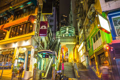 Hong Kong Elgin Street Royalty Free Stock Images