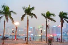 Hong Kong embankment Stock Photography