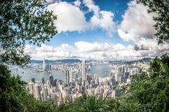 Hong-Kong en el día Imagen de archivo libre de regalías