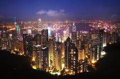 Hong-Kong en la noche