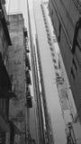 Hong Kong en noir et blanc Image libre de droits
