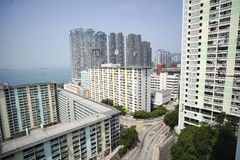 Hong Kong estate construction Stock Photography