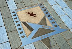 Hong Kong: Estrela de Bruce Lee imagens de stock royalty free