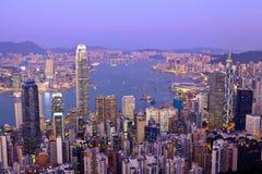Hong Kong evening Stock Photo