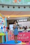 Hong Kong Event av älsklingen för familjen för världen för Disney ` s behandla som ett barn karneval Royaltyfri Bild