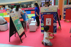 Hong Kong Event des Disney-` s Weltfamilien-Schatz-Baby-Karnevals Lizenzfreie Stockbilder