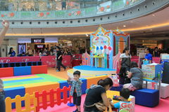 Hong Kong Event des Disney-` s Weltfamilien-Schatz-Baby-Karnevals Stockfoto