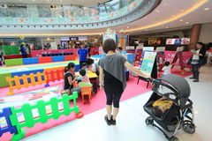 Hong Kong Event of Disney's World Family Sweetheart Baby Carnival. Disney's World Family Sweetheart Baby Carnival, located in Metro City Plaza, Hong Kong, on royalty free stock photography