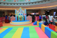 Hong Kong Event of Disney`s World Family Sweetheart Baby Carnival Royalty Free Stock Images