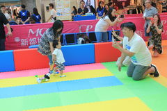 Hong Kong Event of Disney`s World Family Sweetheart Baby Carnival Stock Photography
