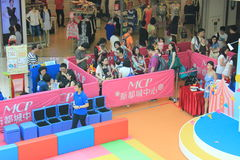 Hong Kong Event of Disney`s World Family Sweetheart Baby Carnival. Disney`s World Family Sweetheart Baby Carnival, located in Metro City Plaza, Hong Kong, on Stock Image