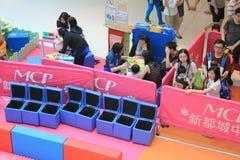Hong Kong Event do carnaval do bebê do querido da família do mundo do ` s de Disney imagens de stock