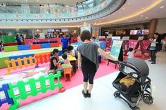 Hong Kong Event van van de de Wereldfamilie van Disney het Liefjebaby Carnaval Royalty-vrije Stock Fotografie