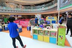 Hong Kong Event van van de de Wereldfamilie van Disney het Liefjebaby Carnaval Royalty-vrije Stock Afbeelding
