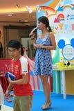 Hong Kong Event van van de de Wereldfamilie van Disney ` s het Liefjebaby Carnaval Stock Foto's